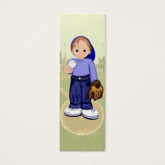 Baseball Billy Bookmark Mini Business Card