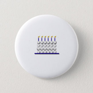 Baseball Birthday Cake Button