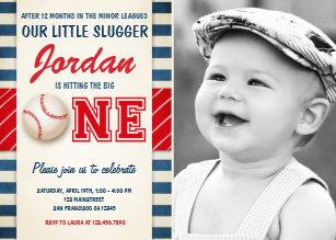 Boy birthday invitations zazzle baseball birthday invitation birthday party boys filmwisefo