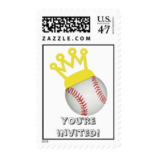 Baseball Birthday Postage