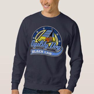 Baseball Black Lab Agility Sweatshirt