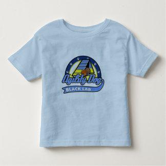 Baseball Black Lab Agility Toddler T-shirt