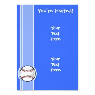 Baseball; Blue Card