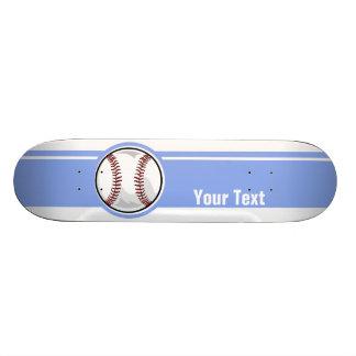 Baseball; Blue Skate Board Decks