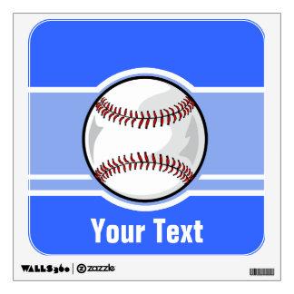 Baseball; Blue Room Stickers