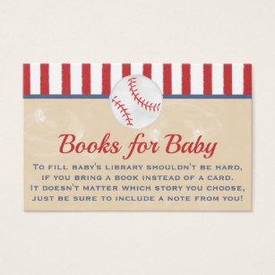 Baseball business cards templates zazzle baseball books for baby business card colourmoves