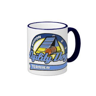 Baseball Boston Terrier Agility Coffee Mugs