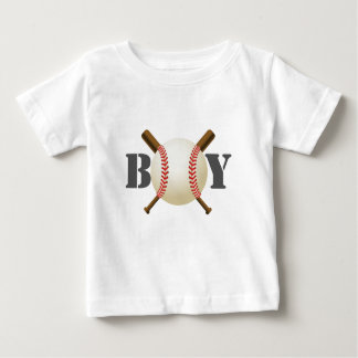 Baseball Boy All-Star Sport Theme Tee Shirt