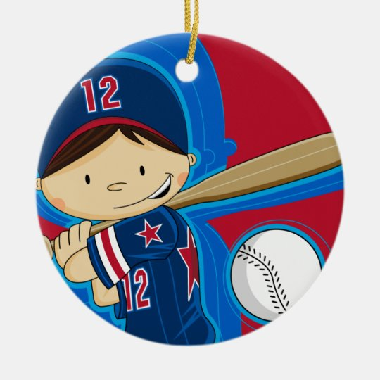 Baseball Boy Ornament