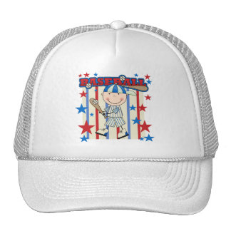 BASEBALL Boy Up at Bat T-shirts and Gifts Hats
