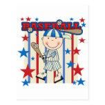 BASEBALL Boy Up at Bat T-shirts and Gifts Post Card