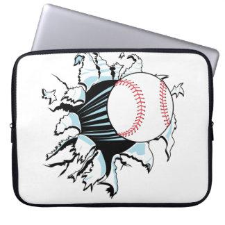 Baseball Breakout Laptop Sleeves