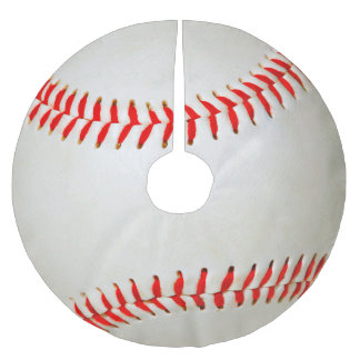 Baseball Brushed Polyester Tree Skirt