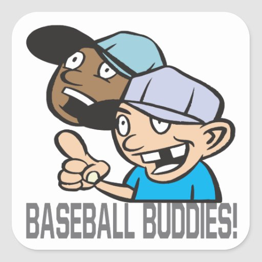 Baseball Buddies Sticker