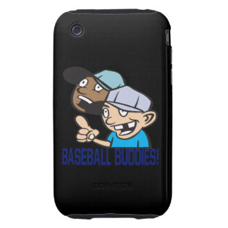 Baseball Buddies Tough iPhone 3 Case