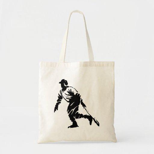 Baseball Budget Tote Bag