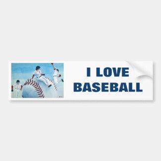 Baseball Bumper Sticker Car Bumper Sticker
