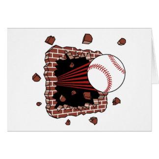 Baseball Burster Card
