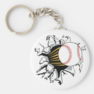 Baseball Burster Keychain