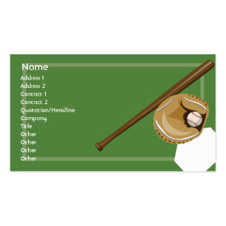 Baseball - Business Business Card
