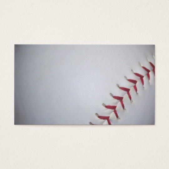 Baseball business card zazzle baseball business card colourmoves Choice Image