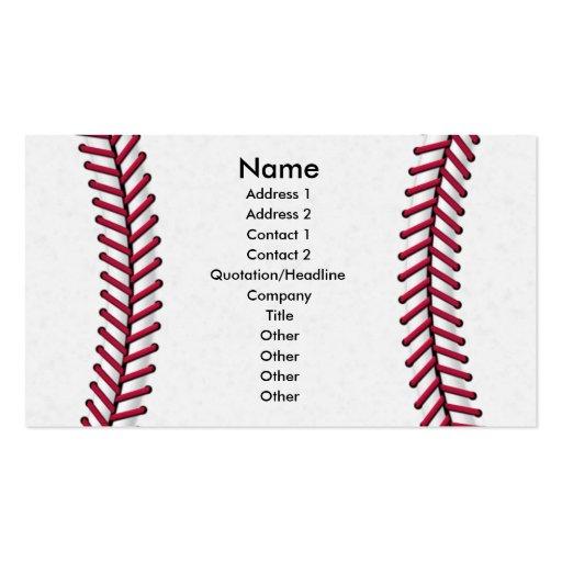 Baseball business card templates bizcardstudio baseball business card colourmoves Choice Image
