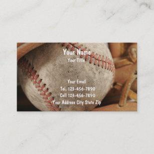 Baseball business cards templates zazzle baseball business cards colourmoves