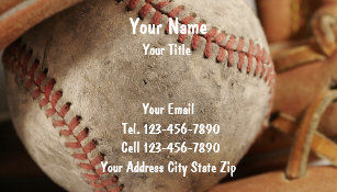Baseball business cards templates zazzle baseball business cards colourmoves Choice Image