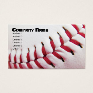 Baseball Business Cards