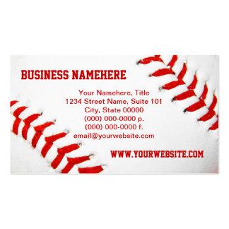 Baseball Business Cards