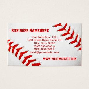 Baseball card business cards templates zazzle baseball business cards colourmoves