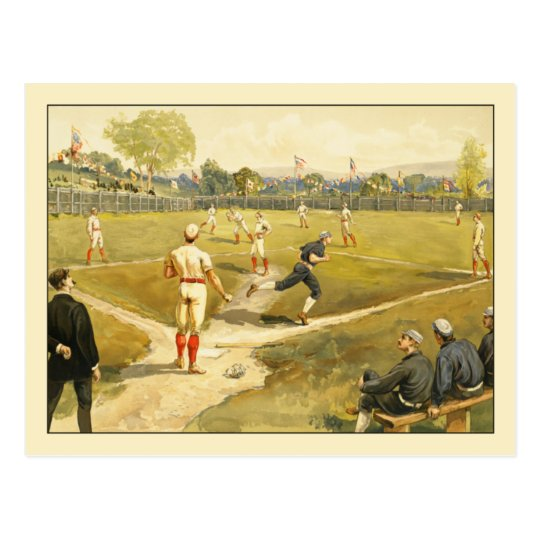 Baseball by Henry Sandham Postcard