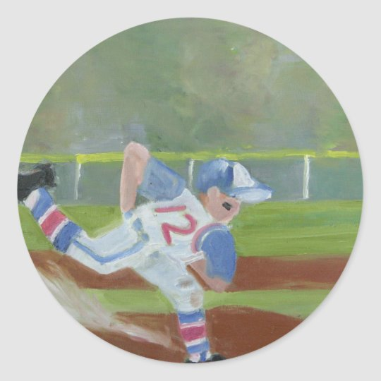 Baseball-by-the-Bay Classic Round Sticker