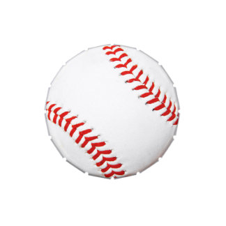 Baseball Candy Container Jelly Belly Tins