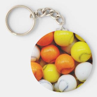 Baseball Candy Keychain