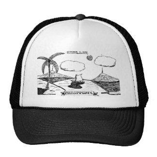 BASEBALL CAP 1945 PHILLIPINES during War Trucker Hat