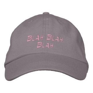 Baseball cap Blah Blah Blah embroidered girls hat