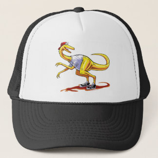 Baseball Cap Compy Cartoon Dinosaur