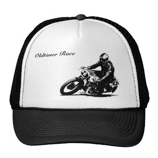 baseball cap motorcycle timer puch trucker hat zazzle