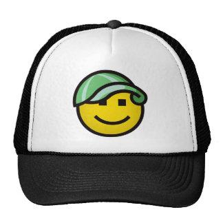 Baseball Cap Smilie - Green