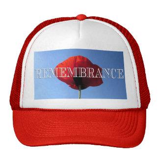 Baseball Cap/Trucker's Hat - Red Poppy Blue Sky