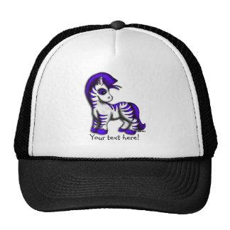 Baseball Cap - Zoe Zebra Trucker Hat