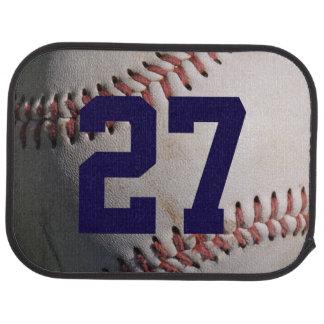 Baseball Car Floor Mat