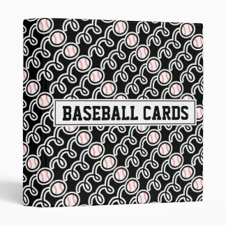 Baseball card binder for collector (no sleeves)