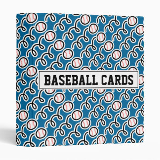 Baseball card binder (without sleeves)
