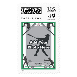 Baseball Card Style Stamp