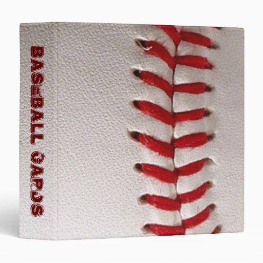 Baseball Cards 3 Ring Binder