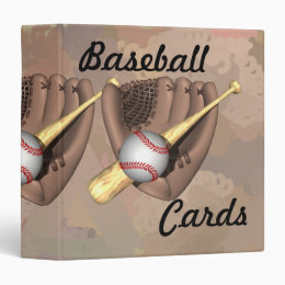 Baseball Cards Binder