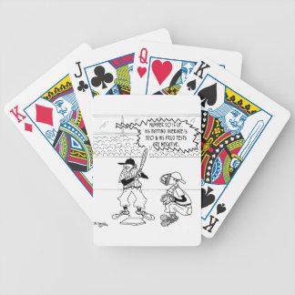 Baseball Cartoon 4879 Bicycle Playing Cards