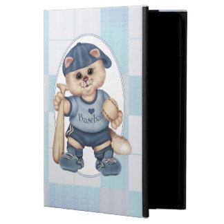 BASEBALL CAT BLEU CUTE iPad Air Case For iPad Air